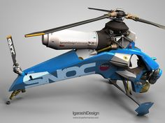 ID Performance personal helicopter. I wish this were real.