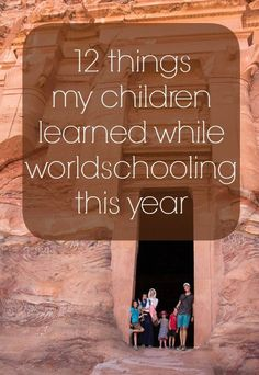 """Traveling with kids? Here's how Stephanie accomplishing teaching her kids while traveling – """"worldschooling"""" – while traveling the globe!"""
