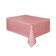 Nappe imprimée de texture - Vichy rouge - Achat / Vente nappe de table - Cdiscount