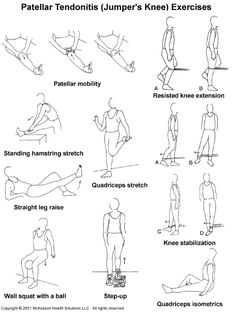 Exercises to relieve Leg Joints' Pain