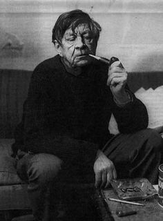 "W. H. Auden. ""Thank God for books as an alternative to conversation."""