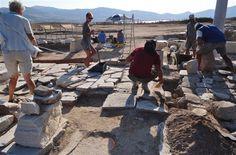 Kouroi of Despotikon island #paros #aks #archeology #kouroi #excavations