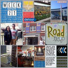 Scrap Orchard Collab - Road Trip Week 21