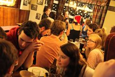 RSC Key Christmas Pub Quiz at Stratford's infamous Dirty Duck pub.
