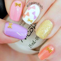 Instagram photo by elleandish #nail #nails #nailart