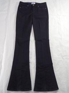 PAIGE DENIM stretch LOU LOU skinny flare dark blue new women's jeans SIZE 25