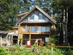 Book your perfect Tofino vacation rental with Owner Direct Vacation Rentals - privately owned homes and condo accommodations for rent. Sea Lions, Family Gatherings, Romantic Getaways, Vancouver Island, Pacific Ocean, Mountain View, Whales, Vacation Rentals, Decks