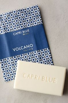 Capri Blue bar soap!! #anthrofave