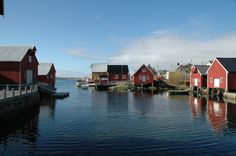 The beautiful coastal village Bud, just outside Molde, Norway