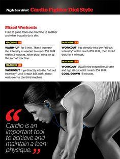 Fighter Diet - Cardio Routines | Achieve a Lean Physique