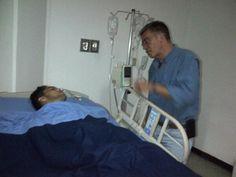 El Alcalde @josyfernandez brindó ayuda para la operación de LuisMaza herido el viernes con impacto de metra