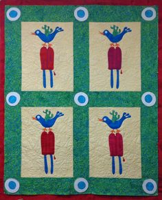 Cold Feet by Terry White Free Tutorial Applique Patterns, Applique Quilts, Cold Feet, Thread Painting, Thread Work, Quilt Tutorials, Scrap, Kids Rugs, Embroidery