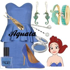 """""""Aquata"""" by amarie104 on Polyvore"""