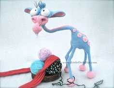 005 Giraffe Crochet pattern PDF file. Amigurumi door LittleOwlsHut $9,97