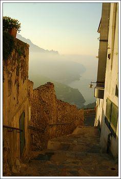 Sunrise in Ravello, Italia