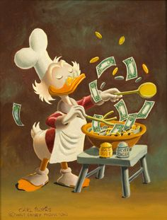 Uncle Scrooge - Banker's Salad by Carl Barks
