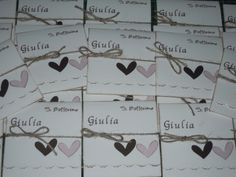 MDS - Magie Di Stoffa: Le cornici di Giulia... Inviti battesimo Big Shot, Favors, Scrap, Invitations, Party, Crafts, Confetti, Fabrics, Gifts