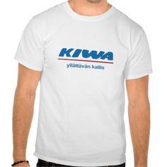 Kiwa - yllättävän kallis. Satiiria.  #finland #finnish #suomi #suomalainen #finska #tpaita #tshirt #troja #siwa #kiva #satiiri