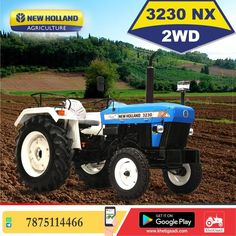 New Holland 3230 Nx ✔️HP: 42 HP ✔️No. of cylinder: 3 Cylinder ✔️Gear Box Type: 8 Forward + 2 Reverse पूरी जानकारी मिलेगी यहाँ ➡️ #KhetiGaadi #NewHolland3230Nx #NewHollandAgriculture #TractorPrice Tractor Price, New Tractor, New Holland Tractor, New Holland Agriculture, Tractors, Models, Templates, Fashion Models