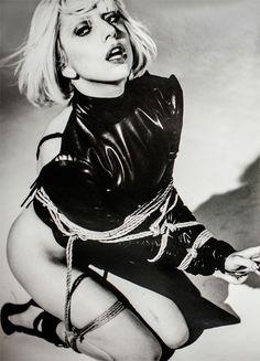 Lady Gaga:    New photo from the Nobuyoshi Araki photoshoot via LadyGagaNow.net