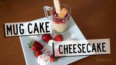 Mug Cake de Cheesecake (Pastel de queso en una taza en el microondas)