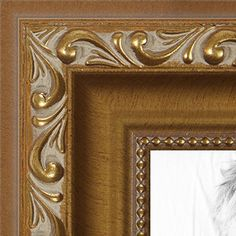 arttoframes 10x15 10 x 15 picture frame gold with beads 1625 wide 2womd10051