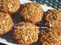 Muffin Recipes, Apple Recipes, Zucchini Chips, Muffin Bread, Breakfast Muffins, Scones, Biscuits, Food And Drink, Gluten