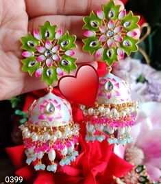 Indian Earrings, Indian Jewelry, Indian Accessories, Indian Gowns Dresses, Antique Jewelry, Handmade Jewelry, Chokers, Bags, Stuff To Buy