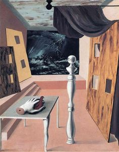 The difficult crossing - 1926 - Rene Magritte