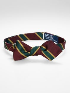 a69c155c386f English Repp Spencer Bow Tie - Polo Ralph Lauren Bow Ties - RalphLauren.com