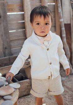 Nouveau-né bébé garçon doux Tenues Ange Anniversaire Formel Baptême Baptême Costume