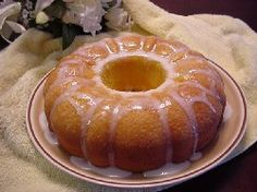 Lemon Supreme Pound Cake - this is the easiest recipe and much lower in fat than traditional pound cake recipes.