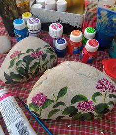 Stone painting , paintedrock , pebbles , acrylic , taş boyama