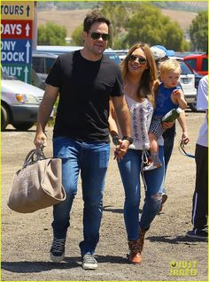 Hilary Duff and family