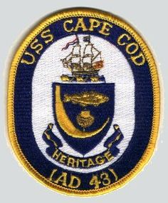a2fd30240e8 USS Cape Cod (AD-43) Tin Can Sailors