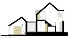 New Family house overlooking the sea. Planning received May 2015 Arch House, Irish Cottage, Rural House, Modern Farmhouse Design, Courtyard House, Building A House, House Plans, House Ideas, Houses