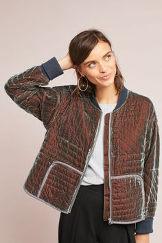 Shop the Sara Velvet Quilted Jacket and more Anthropologie at Anthropologie. Read reviews, compare styles and more.