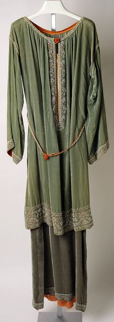 Dress, Afternoon. Callot Soeurs  (French, active 1895–1937). Date: 1920–22. Culture: French.