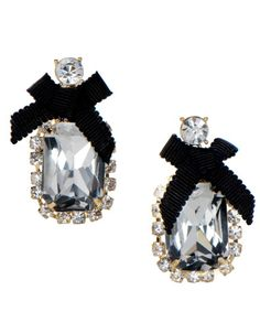 Must get these for the holidays!and for that super cute ruffled black dress in my closet! Jewelry Accessories, Fashion Accessories, Unique Jewelry, Nose Jewels, Betsey Johnson Earrings, Girly Things, Girly Stuff, Jewelery, Drop Earrings