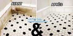 How To Clean Bathroom And Shower Tile & Grout