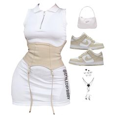 Glamouröse Outfits, Baddie Outfits Casual, Style Outfits, Kpop Fashion Outfits, Dope Outfits, Retro Outfits, Cute Casual Outfits, Polyvore Outfits, Mode Kpop
