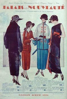 Palais de la Nouveauté summer 1924
