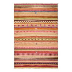 """Tribal Collection Oriental Rug, 4'3"""" x 6'2"""" 