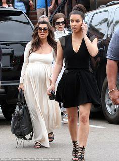 Sears kim kardashian maxi dress
