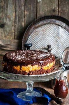 Шоколадный пирог с творогом — Вкуснота!