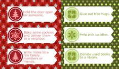 101 Days of Christmas: Random Acts of Kindness Advent Calendar | Christmas Your Way