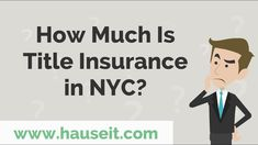 Title insurance is one of the largest closing costs for buyers in NYC. Title insurance does not apply to co-op apartments since co-ops are not considered to be 'real property.'