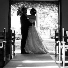 Stuart and Nicola ❤️ in the Providence chapel #ProvidenceWeddings #love #marriage #newlyweds