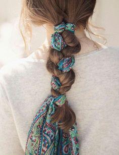 Schals & Tücher trendig binden 🎀 (ohne Anleitung)・☆・𝔤𝔢𝔣𝔲... - Seçil - #Anleitung𝔤𝔢𝔣𝔲 #Binden #ohne #Schals #Seçil #trendig #Tücher - Schals & Tücher trendig binden 🎀 (ohne Anleitung)・☆・𝔤𝔢𝔣𝔲... - Seçil Hair Today, Hair Ties, Scarf Hairstyles, Summer Hairstyles, Braided Hairstyles, Pretty Hairstyles, Braid Scarf, Hair Looks, Ribbon Hairstyle