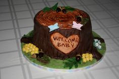 Woodland Baby Shower by cheekysweets on Cake Central